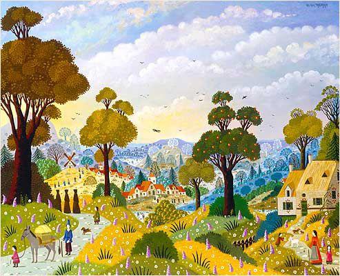 Biographie du peintre alain thomas art bright folk art for Alain thomas
