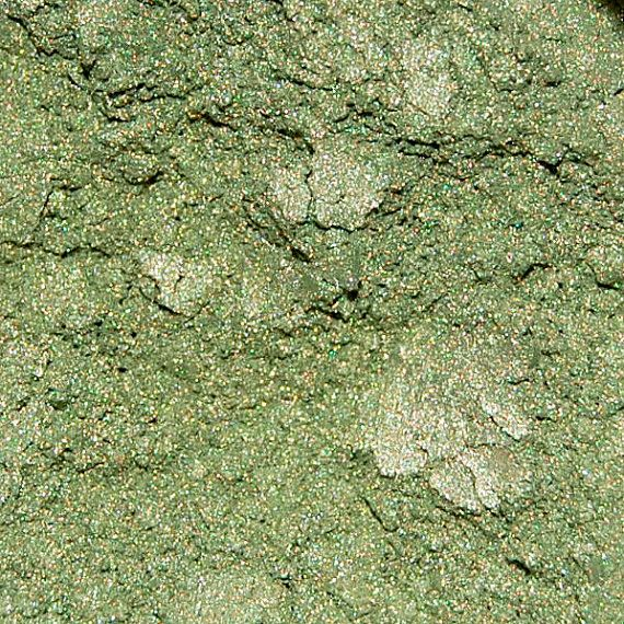 Sage Green Cosmetic Mica Powder for Makeup, Soap Making
