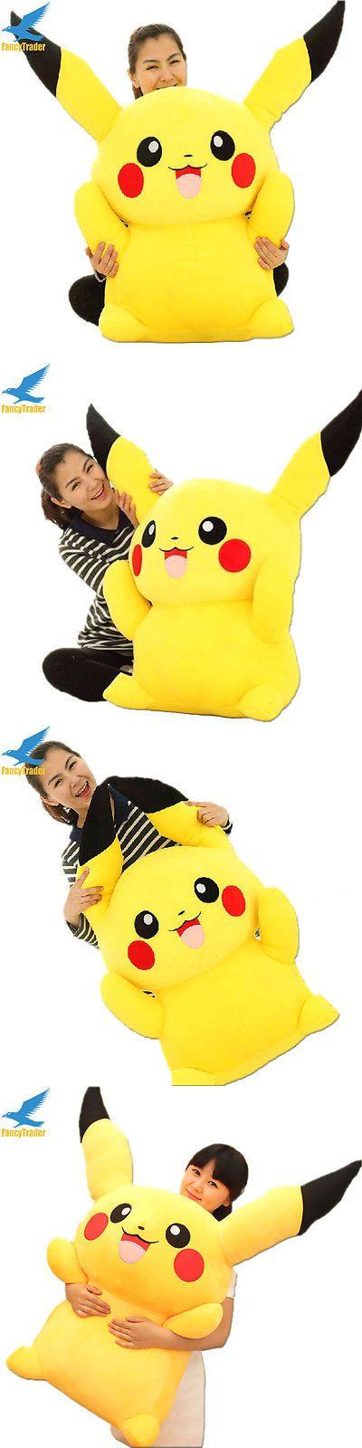 Stuffed Animals Beanbag Plush 51030: Giant Big Hung Plush Pikachu Soft Toys Stuffed Filled Doll Kids Girls Best Gift -> BUY IT NOW ONLY: $42.99 on eBay!