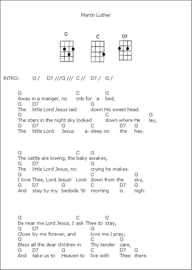 Christmas Carols Sheet Music For Ukulele - lyrics and chords jingle bells ge e strait on ...