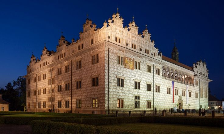 Litomysl chateau - Constructed between 1568–1581.