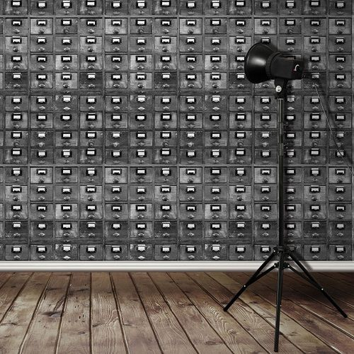 Love tiny drawers!! industrial decor | Tumblr - Best 25+ Industrial Wallpaper Ideas On Pinterest Loft Design