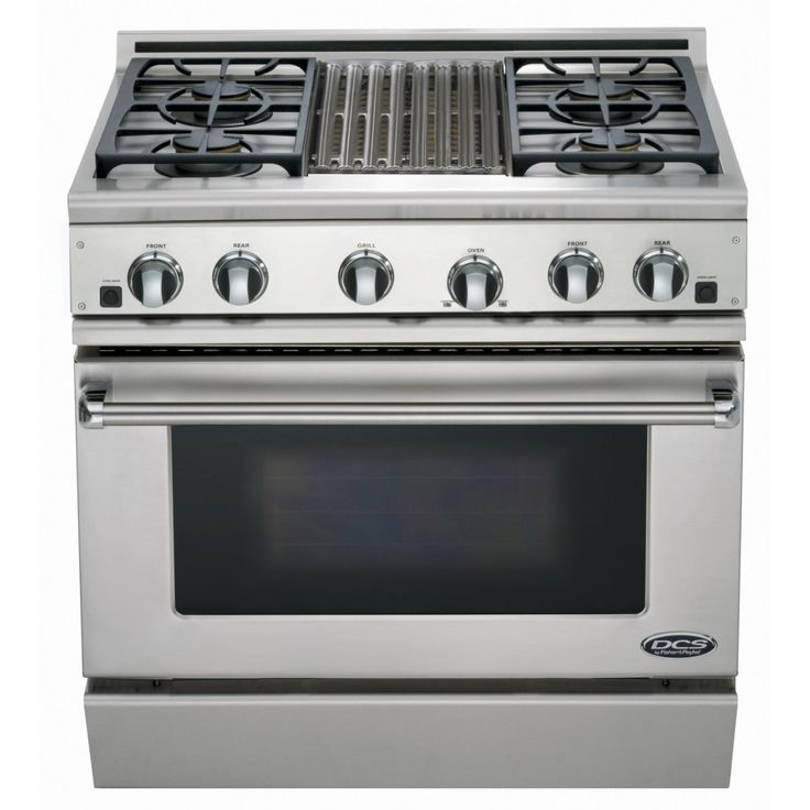 Fisher Paykel Professional Formerly Dcs 36 Inch 4 Burner Natural Gas Range With Griddle Rgv2 364gdn N