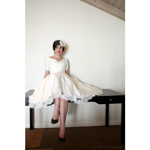 Vintage Style Wedding Dresses Houston : Wedding dresses short dressses