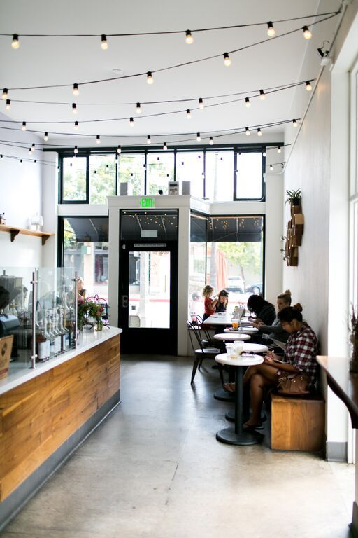 CHARMING COFFEE SHOP TOUR WITH LAVENDER & HONEY ESPRESSO BAR | Best Friends For Frosting