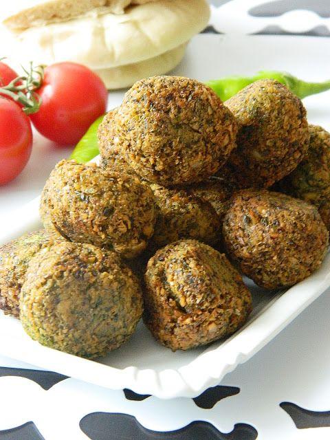Dr Ola's kitchen: Egyptian Falafel (Ägyptische Falafel)
