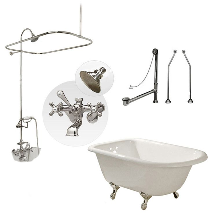 1000 Images About Bathroom Ideas On Pinterest Clawfoot Tubs Bath Mixer An