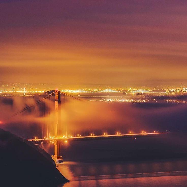 San Francisco Fog Map Live%0A San Francisco California by cyrillbphotos by  photoblog sanfranciscofeelings com sanfrancisco sf bayarea alwayssf  goldengatebridge