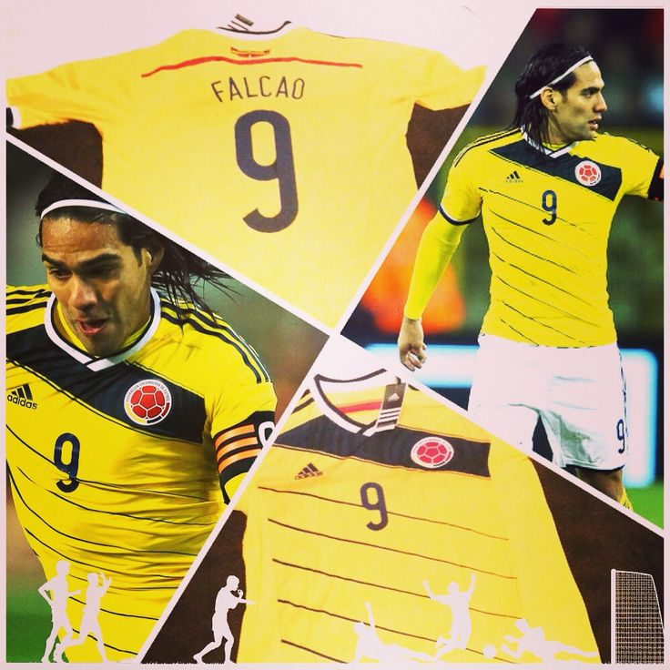 #radamel #falcao #colombia #matchworn #football #jersey