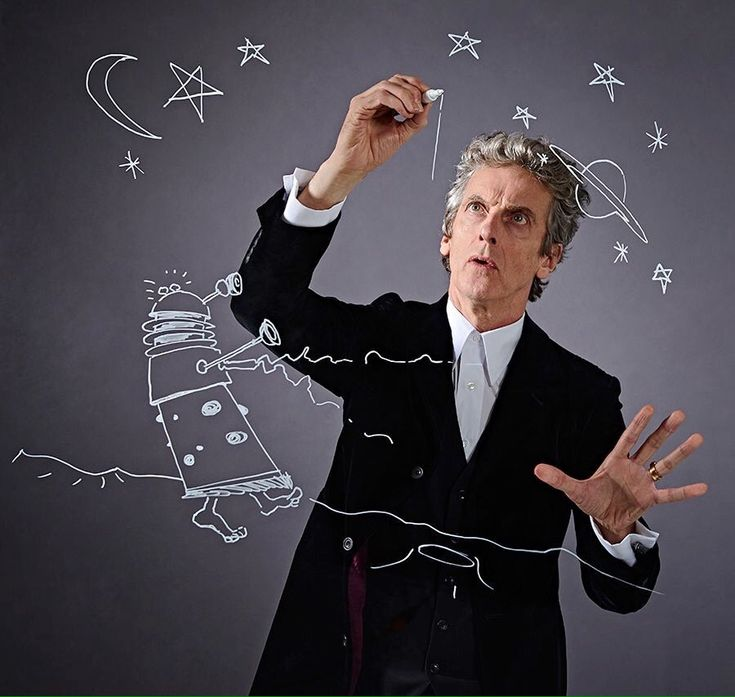 Photo of Peter Capaldi used in Radio Times article promoting 2016 Christmas special.