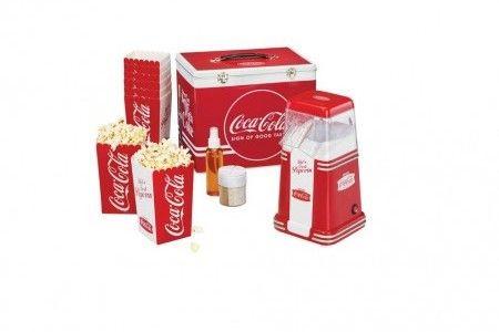 Mallette machine à pop corn CC650 Coca Cola - petit appareil électroménager - InnovMania