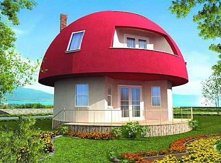Awesome Mushroom Houses. See More. Maison Champignon