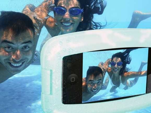 This is the Aqua Waterproof Phone Case.  Why We Love It: This is the ultimate underwater case for any smartphone user. It will keep your pho...