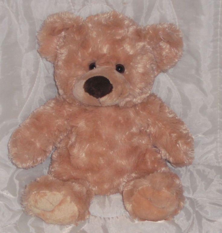 Dan Dee Collector's Plush Teddy Bear Cream Golden Blonde Stuffed Animal Toy Cute #DanDee