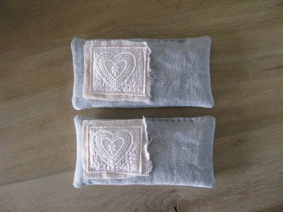 lavender pillows - shabby blush pink sweet lavender sachets - mothersday gift - aromatherapy - eye pillows