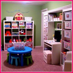 organizingPlayrooms Ideas, Playrooms Storage, Kids Playrooms, Play Rooms, Kids Room, Playrooms Organic, Plays Room, Storage Ideas, Toys Room