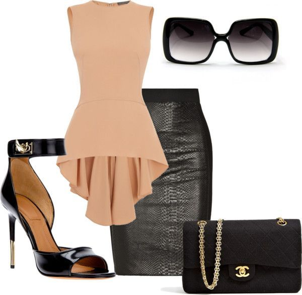 15 Modern polyvore combinations for the businesswoman