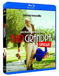 Vinn Bad Grandpa på Bluray!