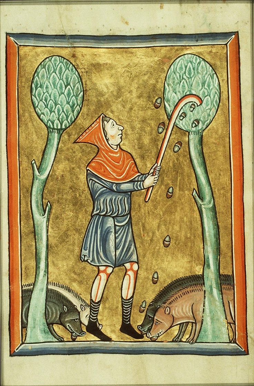 [Collectif de reconstitution de matériels de Terre Sainte au XIIe siècle] : Bâton / crosse de berger