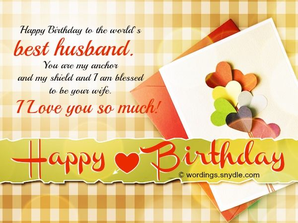 The 25 best Husband birthday message ideas – Birthday Cards for Husband with Love