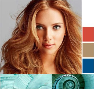 Золотисто-медный цвет волос. Янтарный восход