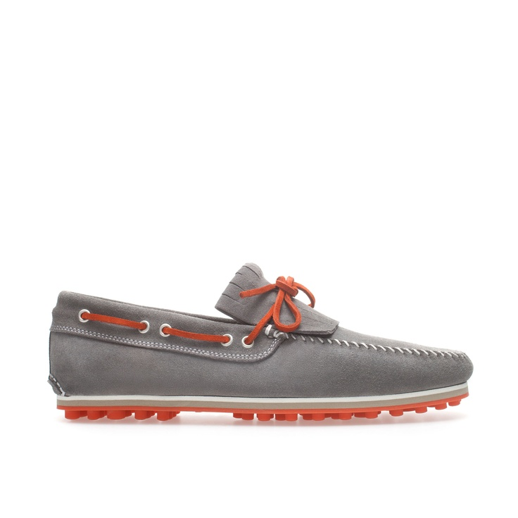 DOCKSIDERS WITH CONTRASTING LACES - Shoes - Man | ZARA United States