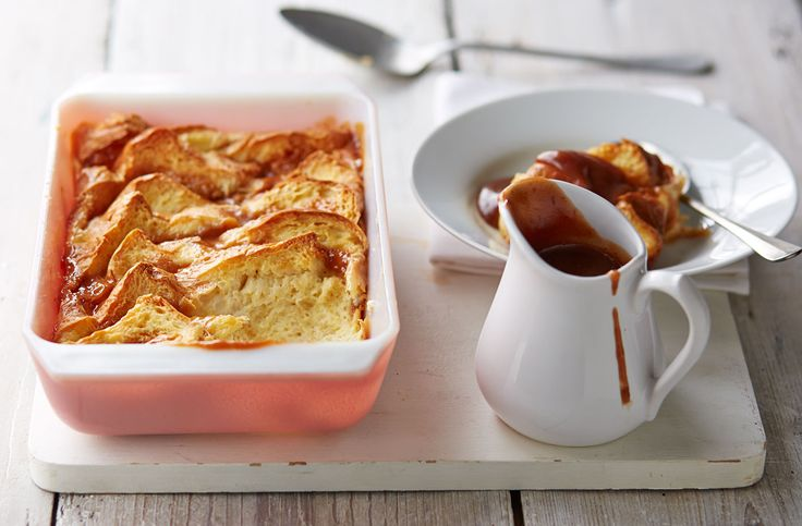 Try this tasty sticky toffee bread & butter pudding recipe at Tesco Real Food. This dessert combines the best of two British puds with delicious results.