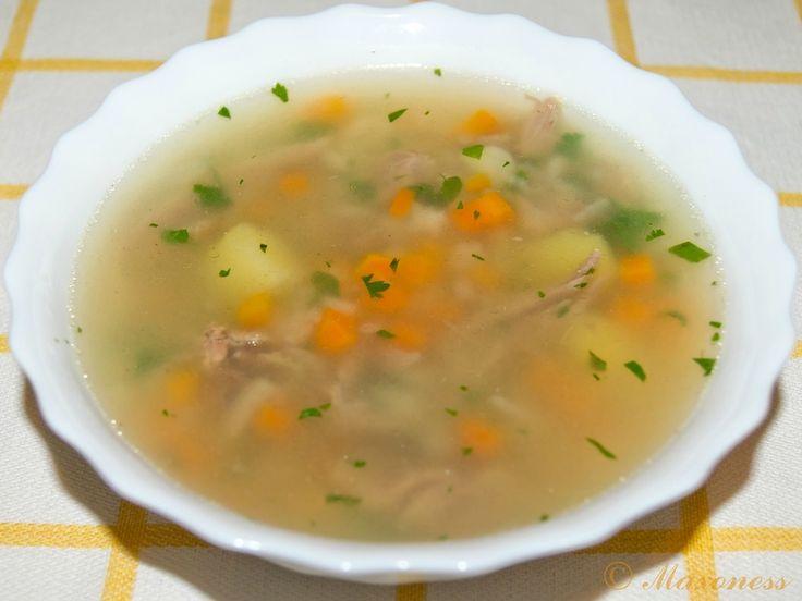Суп из баранины по-турецки фото