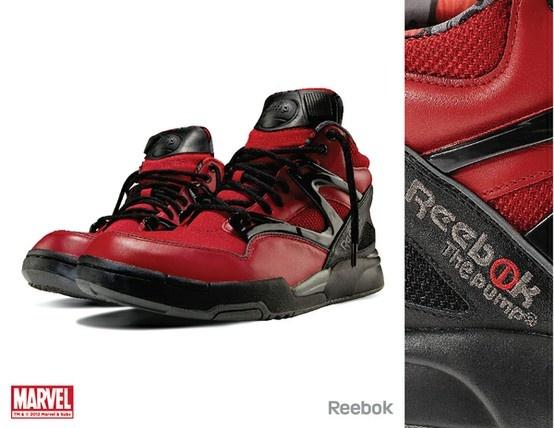 Reebok x Marvel • Deadpool Pump Omni