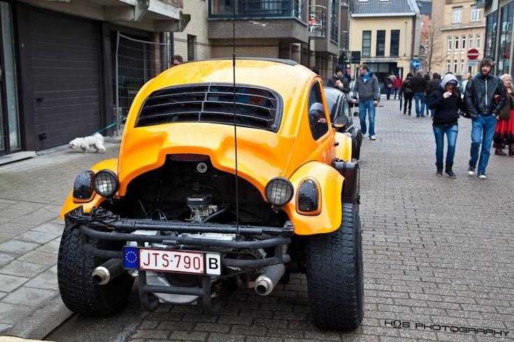 baja bug with type 4 vw engine