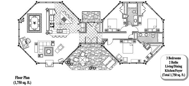 2 Story Octagon House Plans | ... that enables octagonal houses with sheer glass walls very modular