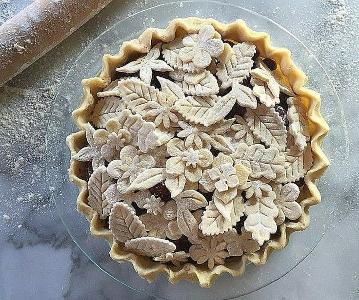 Cut outs for top pie crust