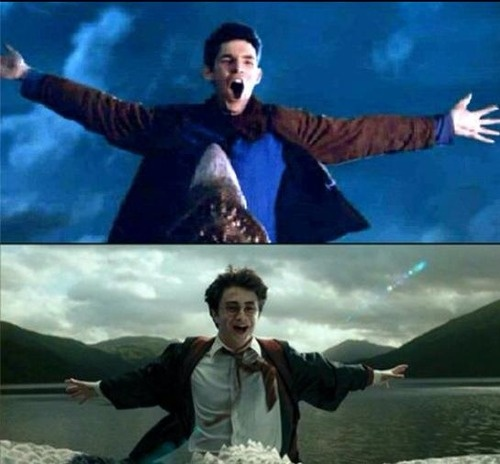YESSSSS!!!!!!!!!!!!!! When I saw that episode of Merlin for the first time I was totally thinking of this.