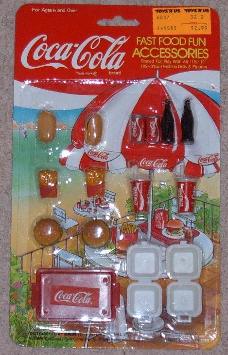 Coca Cola Fast Food Run  Had This