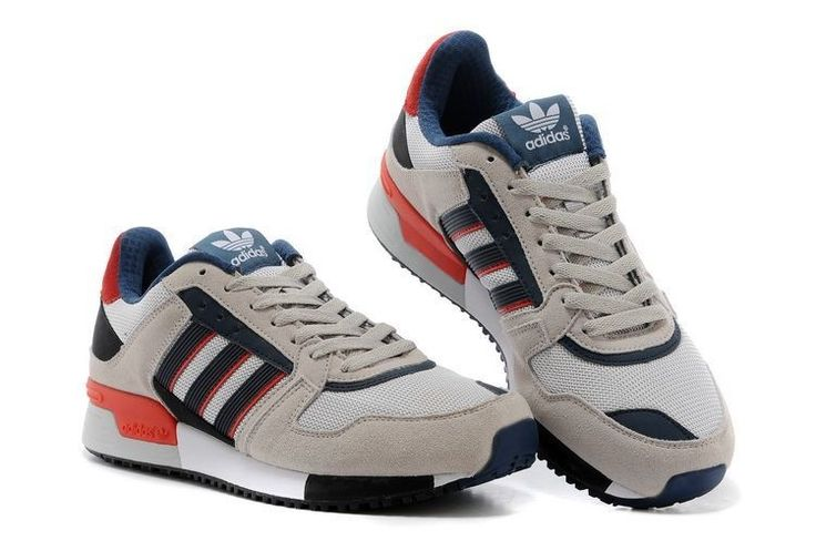 adidas Originals ZX 630: Grey/Navy/Red   Sneakers: adidas ZX 630    Pinterest   Adidas and Red trainers