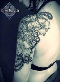 Afbeeldingsresultaat voor lace tattoo