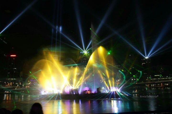 Brisbane Festival 2012 Santos GLNG City of Light