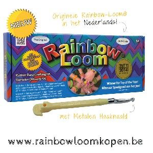 Nieuwe Rainbow Loom met Metalen Haaknaald kopen