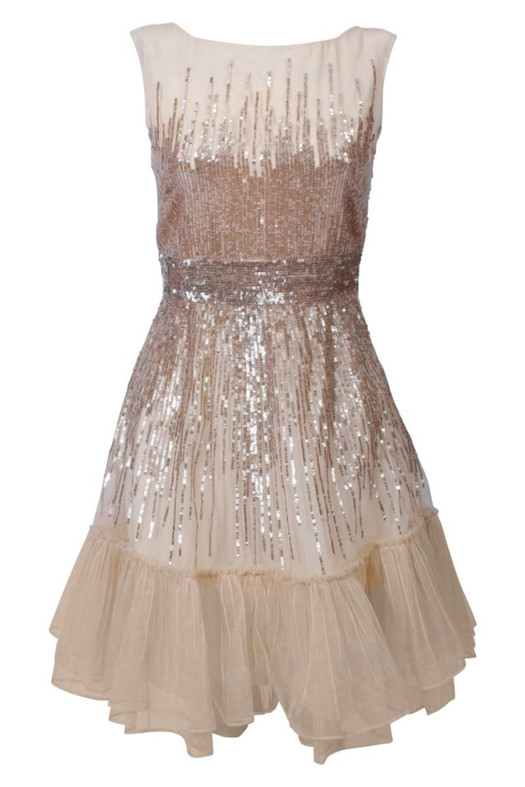 Red Valentino Honey Cocktail Dress - casual wedding: Beautiful, Sparkle