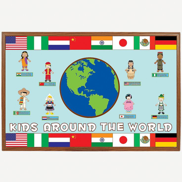 225 Pc. Multicultural Bulletin Board Set - OrientalTrading.com perfect for ss in q2 i think!