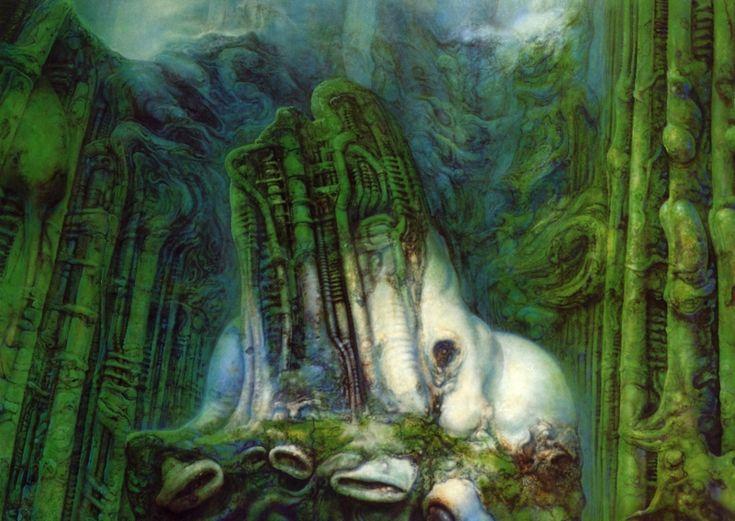 Le visioni infernali di Hans Ruedi Giger   Tu(t)ti libri, io mi libro