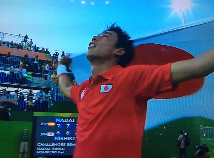 Kei Nishikori, the Bronze Medalist at Rio 2016