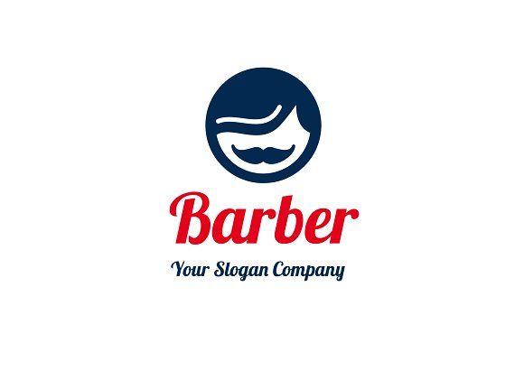 Barber Logo by Little logo market on @creativemarket