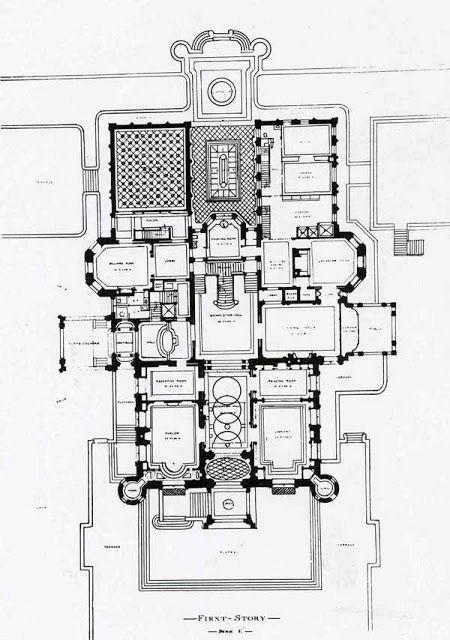 21 best images about schwab mansion on pinterest for Mansion floor plans with ballroom