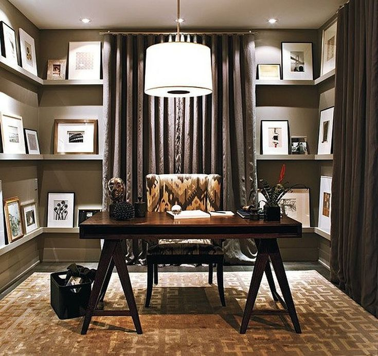 88 Stylish and Minimalist Home Office Decoration Ideas