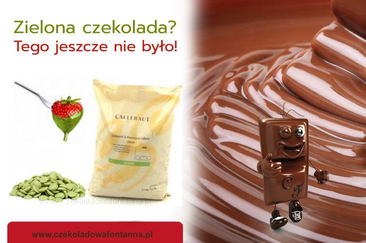 Zielona czekolada to jest to! Wydaje Wam się, że to niemożliwe? A jednak :) Wiecie jaki ma smak?