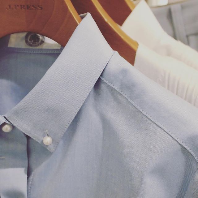 2017 SS Collection #JPressLadies #pearl釦 #peal#oxford#B/D#cotton_shirts