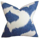 Found it at AllModern - Otter Creek Ikat Throw Pillow