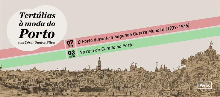 Tertúlias à moda do Porto | 02 dez às 15:00 | Biblioteca Municipal Almeida Garrett | Auditório | César Santos Silva