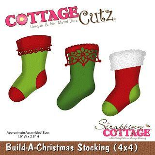 Stocking Gift Card Holders - CottageCutz